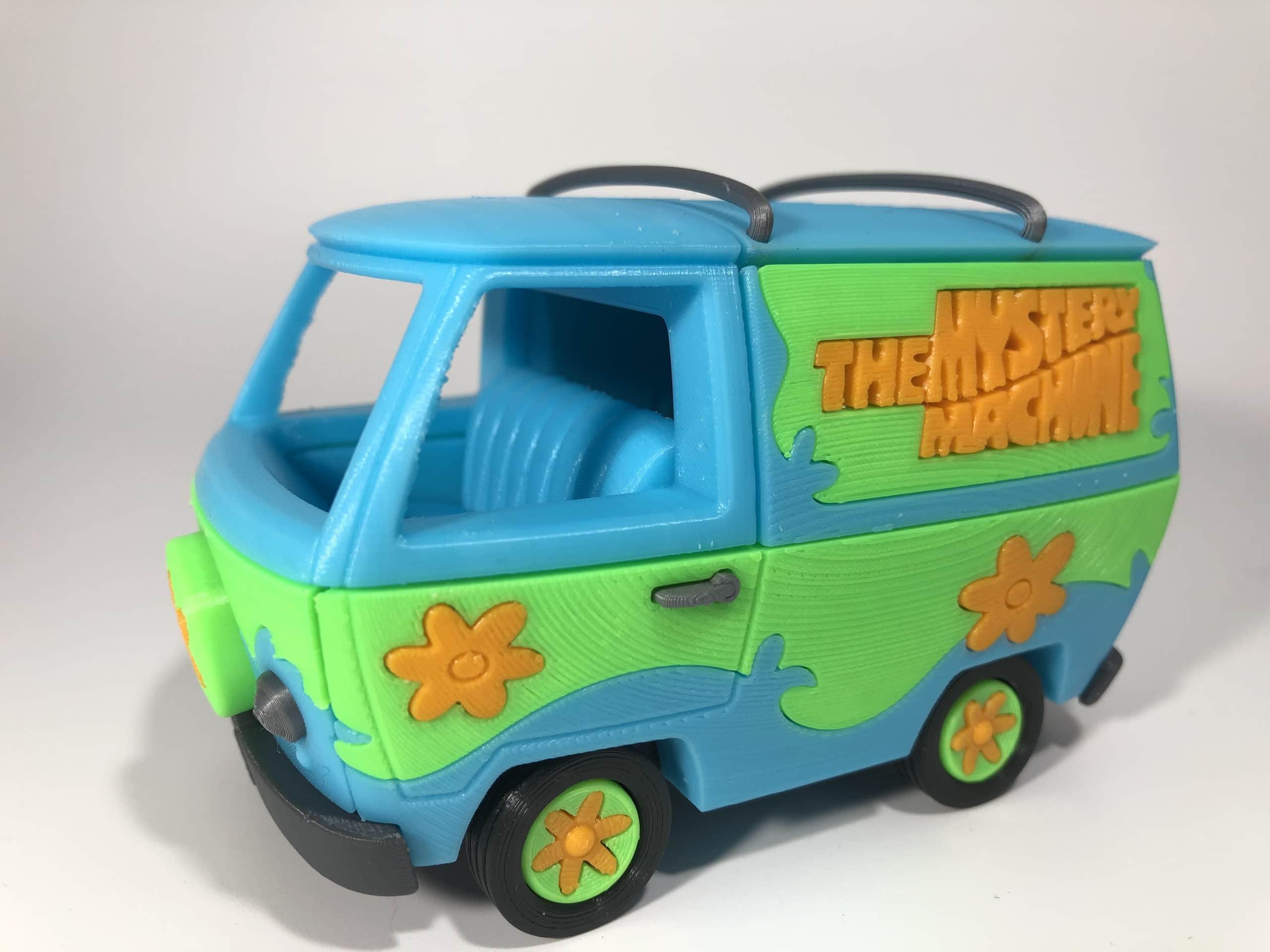 Mystery machine – Scooby Doo